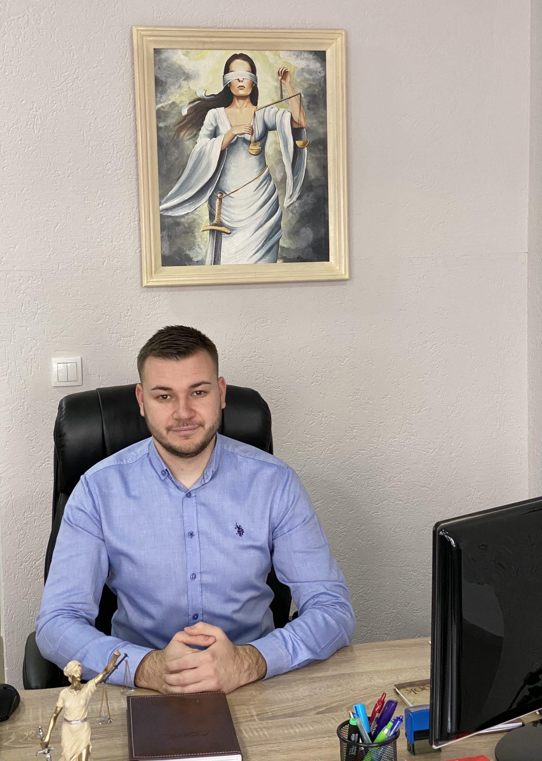 Advokatski pripravnik Miloš Pavlović